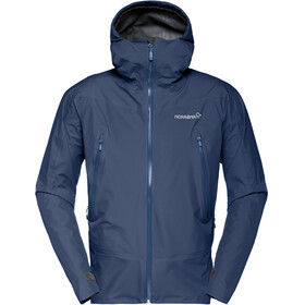Norrøna M's Falketind Gore-Tex Jacket Indigo Night